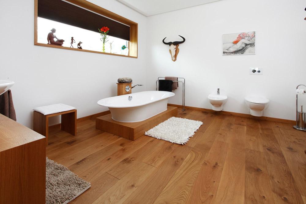 Badezimmer: Parkett